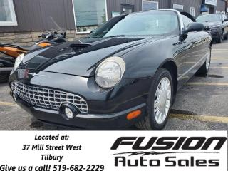 Used 2002 Ford Thunderbird Convertible with Hardtop for sale in Tilbury, ON