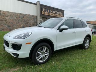 Used 2016 Porsche Cayenne SPORT PLUS PKG NAVI RAER CAM PANO ROOF for sale in North York, ON
