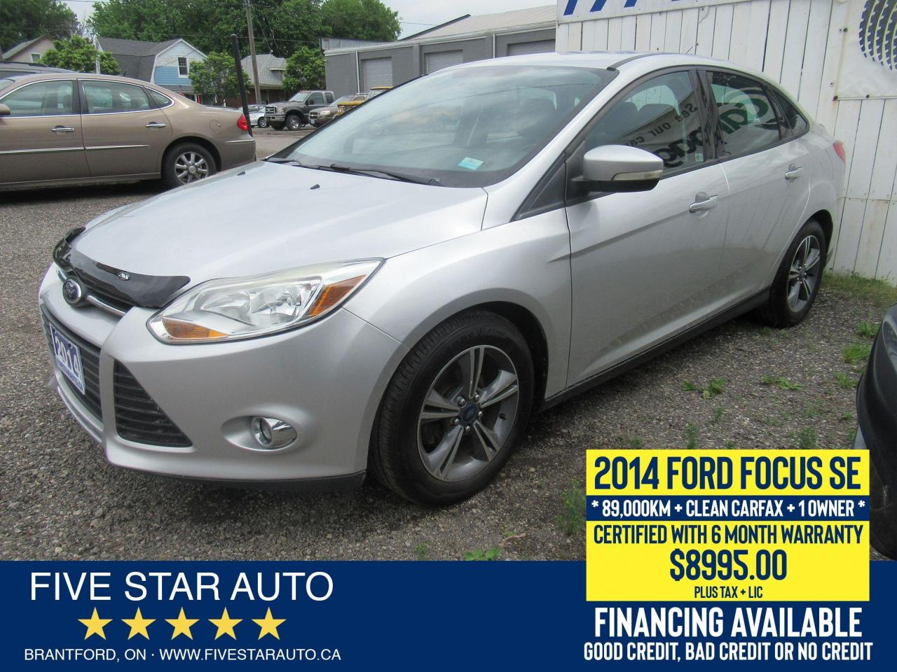 2014 Ford Focus SE *Clean Carfax* Certified w/ 6 Month Warranty