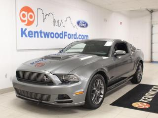 Used 2014 Ford Mustang V6 Coupe   manual   Hood Scoop   Window Louvers   LOW km for sale in Edmonton, AB