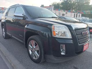 Used 2015 GMC Terrain SLT-AWD-ECO-SUNROOF-LEATHER-NAVI-AUX-ALLOYS for sale in Scarborough, ON