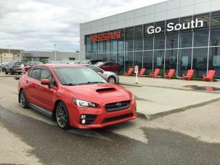 Used 2015 Subaru WRX WRX STI, SPORT TECH, LEATHER for sale in Edmonton, AB