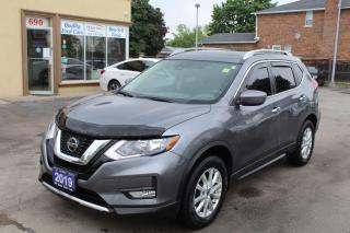 Used 2019 Nissan Rogue SV Pano Roof for sale in Brampton, ON