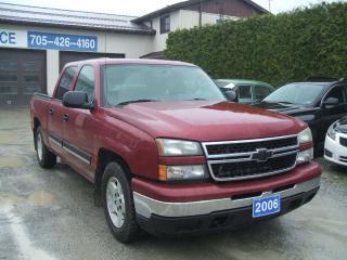 Used 2006 Chevrolet Silverado 1500 4 Door Crew Cab, LT, 2WD for sale in Beaverton, ON