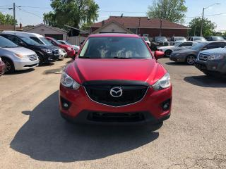 Used 2014 Mazda CX-5 GT**AWD*LEATHER*NAVI** for sale in Caledonia, ON