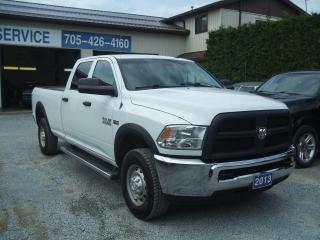 Used 2013 RAM 2500 ST, 4 Dr Crew Cab, 8' Box, 4x4 for sale in Beaverton, ON