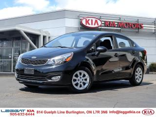 Used 2013 Kia Rio LX+/Bluetooth/ Power package/ LOW KMs! for sale in Burlington, ON