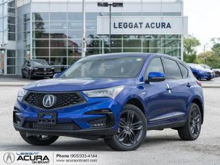 New 2021 Acura RDX A-Spec PANO ROOF +NAVI | COOLED SEATS | LOADED SAFETY FEATURES for sale in Burlington, ON