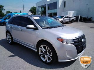 Used 2013 Ford Edge Sport | NAVI | MOONROOF | LEATHER | HTD SEATS | PWR TAILGATE | for sale in Barrie, ON