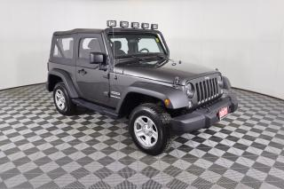 Used 2017 Jeep Wrangler Sport 1 OWNER - NO ACCIDENTS   MANUAL   4X4 for sale in Huntsville, ON