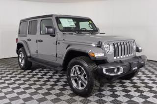 New 2021 Jeep Wrangler Unlimited Sahara IT'S JEEP SEASON for sale in Huntsville, ON