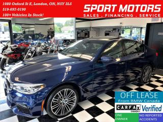 Used 2018 BMW 5 Series 530i xDrive M PKG+3D Camera+GPS+CLEAN CARFAX for sale in London, ON
