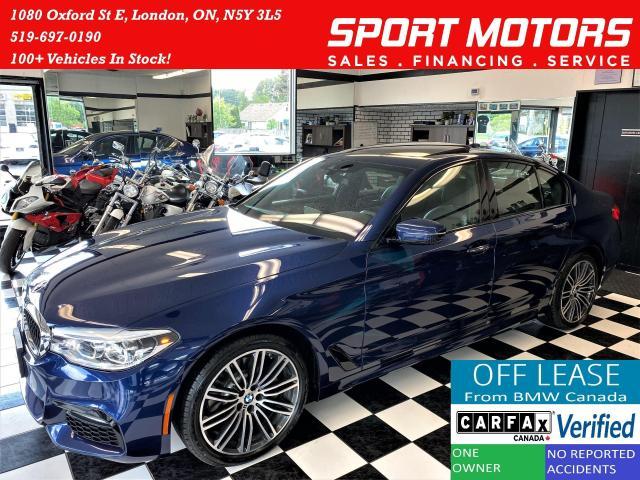 2018 BMW 5 Series 530i xDrive M PKG+3D Camera+GPS+CLEAN CARFAX