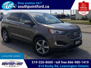Used 2019 Ford Edge SEL|NAV|HTD SEATS & STEERING|MOONROOF|REMOTE START for sale in Leamington, ON
