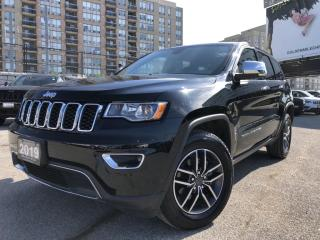 Used 2019 Jeep Grand Cherokee Limited No Accidents, Sunroof, Navi!! for sale in North York, ON