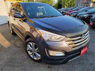 Used 2013 Hyundai Santa Fe Luxury/AWD/NAVI/CAMERA/LEATHER/ROOF/LOADED/ALLOYS for sale in Scarborough, ON