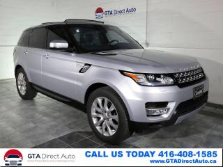 Used 2016 Land Rover Range Rover Sport Td6 HSE 4x4 Nav Pano Tech HUD BLIS Cam Certified for sale in Toronto, ON