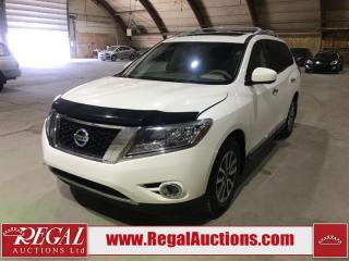 Used 2015 Nissan Pathfinder SL 4D Utility AWD for sale in Calgary, AB