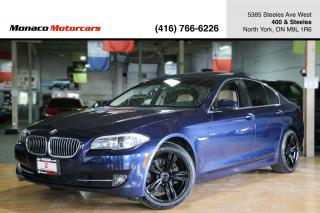 Used 2013 BMW 5 Series 528i xDrive - NAVIGATION|BACKUP|SUNROOF|2XRIM&TIRE for sale in North York, ON