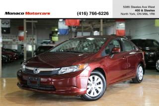 Used 2012 Honda Civic LX - REMOTE START|POWER OPTIONS|AC|CERTIFIED for sale in North York, ON