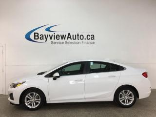 Used 2019 Chevrolet Cruze LT - AUTO! REVERSE CAM! ONSTAR! 22,000KMS! + MORE! for sale in Belleville, ON
