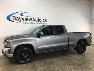 Used 2020 Chevrolet Silverado 1500 LT - DOUBLE CAB! 4X4! for sale in Belleville, ON