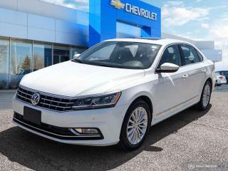 Used 2017 Volkswagen Passat Comfortline Leather | Sunroof | Heated Seats for sale in Winnipeg, MB