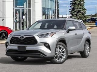 New 2021 Toyota Highlander LIMITED AWD for sale in Winnipeg, MB