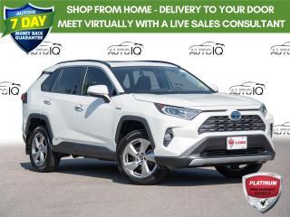 Used 2019 Toyota RAV4 Hybrid Limited Memory Seats | Moonroof | Heated Steering Wheel for sale in Welland, ON