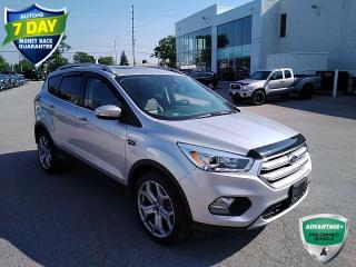 Used 2017 Ford Escape Titanium | CLEAN CARFAX | ONE OWNER | NAVI | MOONROOF | ADAPTIVE CRUISE | for sale in Barrie, ON