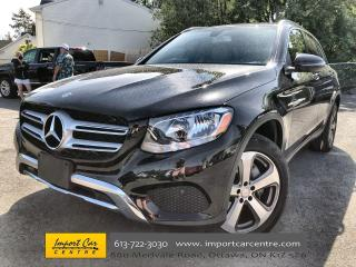 Used 2017 Mercedes-Benz GLC 300 LEATHERETTE  PANO ROOF  NAVI  HTD SEATS  BACKUP CA for sale in Ottawa, ON