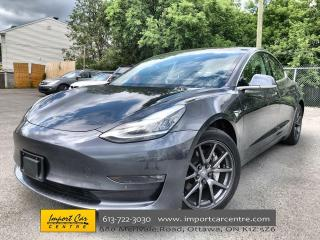Used 2018 Tesla Model 3 Performance PERFORMANCE STEALTH PACKAGE  ALLOYS  P for sale in Ottawa, ON