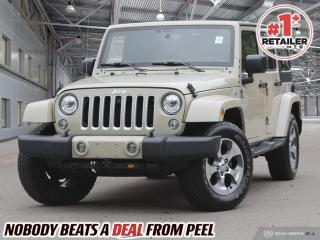 Used 2017 Jeep Wrangler Unlimited Sahara for sale in Mississauga, ON