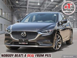Used 2020 Mazda MAZDA6 Signature Edition*Certified*No Accidents*Executive for sale in Mississauga, ON