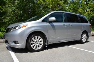 Used 2017 Toyota Sienna XLE 7-Passenger AWD for sale in Vancouver, BC