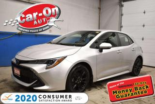 Used 2019 Toyota Corolla HATCHBACK SE FUN 6-SPEED MANUAL | SAFETY SENSE | R for sale in Ottawa, ON