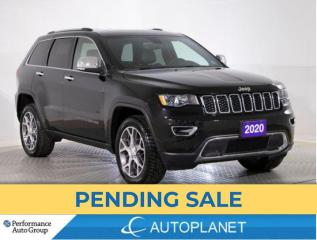 Used 2020 Jeep Grand Cherokee Limited 4x4, UConnect 4C Navi Grp, Sunroof! for sale in Clarington, ON