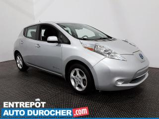 Used 2015 Nissan Leaf SV - Navigation - Bluetooth - Climatiseur for sale in Laval, QC