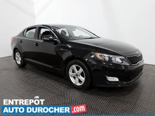 Used 2015 Kia Optima LX - Bluetooth - Climatiseur for sale in Laval, QC