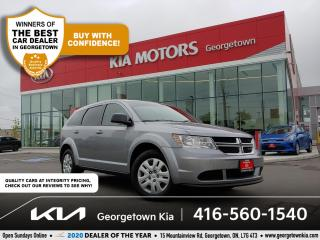 Used 2017 Dodge Journey SE | CLN CRFX | 7 PASS | REAR CLIMATE| TINTS | 80K for sale in Georgetown, ON