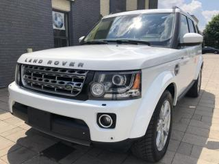 Used 2015 Land Rover LR4 4WD 4dr 7 SEATER for sale in Nobleton, ON
