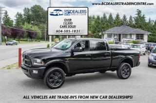 Used 2016 RAM 3500 4X4 SPORT DIESEL Crew Cab Laramie, Low 116k, No Accidents! for sale in Surrey, BC
