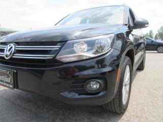 Used 2017 Volkswagen Tiguan AWD/WOLFSBURG for sale in Newmarket, ON