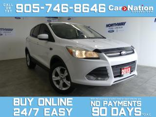 Used 2013 Ford Escape SE | SYNC | HEATED SEATS | ALLOYS | LOW KMS for sale in Brantford, ON