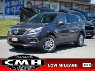 Used 2018 Buick Envision Preferred  CAM LEATH P/SEATS P/GATE 18-AL for sale in St. Catharines, ON