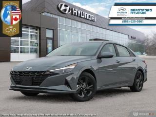 New 2021 Hyundai Elantra Preferred w/Sun & Tech Package IVT  - $157 B/W for sale in Brantford, ON