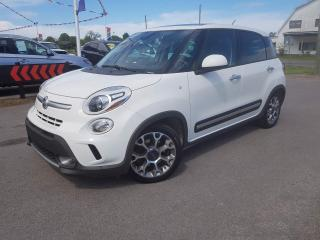 Used 2014 Fiat 500 L Trekking Heated Seats, Navigation and Sunroof for sale in Dunnville, ON