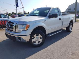 Used 2012 Ford F-150 XL 8-ft. Bed 4WD 4x4 with Trailer Brake for sale in Dunnville, ON