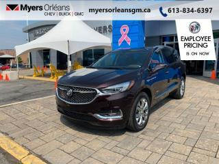 New 2021 Buick Enclave Avenir  - Sunroof - Leather Seats for sale in Orleans, ON