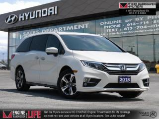 Used 2018 Honda Odyssey EX-L RES  - Sunroof -  Leather Seats - $227 B/W for sale in Nepean, ON